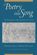 Pdf Poetry into Song