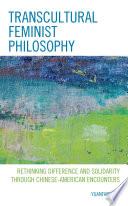 Transcultural Feminist Philosophy Book