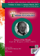 The International Journal Of Indian Psychology Volume 4 Issue 2 No 89