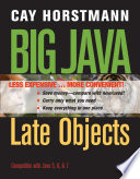 Big Java Late Objects Binder Ready Version + WileyPLUS Registration Card