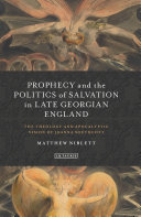 Prophecy and the Politics of Salvation in Late Georgian England Pdf/ePub eBook