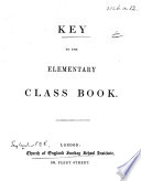 Key to the Elementary Class Book