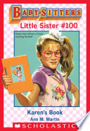 Karen s Book  Baby Sitters Little Sister  100