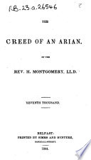 The Creed Of An Arian