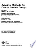 Adaptive Methods for Control System Design