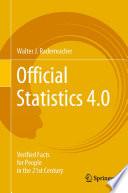 Official statistics 4.0