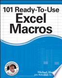 """101 Ready-To-Use Excel Macros"" by Michael Alexander, John Walkenbach"