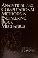 Analytical and Computational Methods in Engineering Rock Mechanics