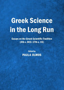 Greek Science in the Long Run