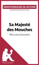 Sa Majesté des Mouches de William Golding Pdf/ePub eBook