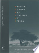 Aridity  change and conflict in Africa