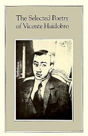 The Selected Poetry of Vicente Huidobro