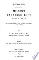 Paradise Lost  Books V and VI
