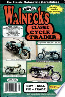 WALNECK'S CLASSIC CYCLE TRADER, AUGUST 1999