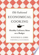 Old Fashioned Economical Cooking