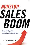 Nonstop Sales Boom Pdf/ePub eBook