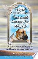 Seven Experiments That Could Change the World Book