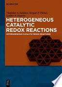 Heterogeneous Catalytic Redox Reactions