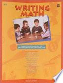 Writing Math Book PDF