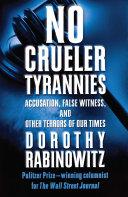 No Crueler Tyrannies Pdf/ePub eBook