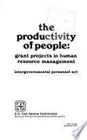 The Productivity of People