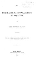 North American Bows, Arrows, and Quivers ebook
