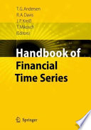 Handbook Of Financial Time Series Book PDF