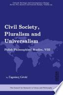Civil Society Pluralism And Universalism