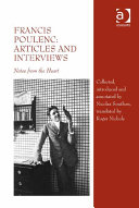 Francis Poulenc  Articles and Interviews