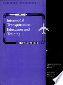 Intermodal Transportation Education and Training