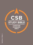CSB Study Bible  Hardcover
