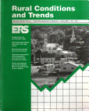 Rural Conditions and Trends