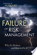 The Failure of Risk Management Book