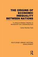 The Origins of Economic Inequality Between Nations Pdf/ePub eBook