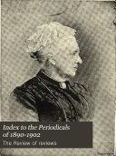 Index to the Periodicals of 1890 1902