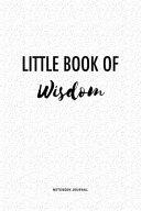 Little Book Of Wisdom PDF