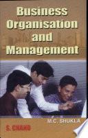 Business Organisation & Management
