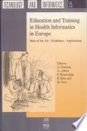 Education And Training In Health Informatics In Europe