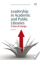 Leadership in Academic and Public Libraries Book