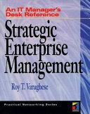 Strategic Enterprise Management Book