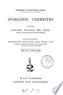 Inorganic chemistry  revised and enlarged by S  Macadem Book PDF