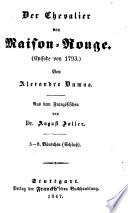 Der Chevalier von Maison-Rouge