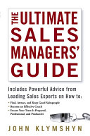 The Ultimate Sales Managers' Guide Pdf/ePub eBook