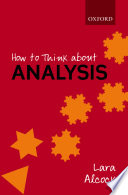 How To Think About Analysis Book PDF