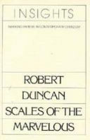 Robert Duncan Scales Of The Marvelous