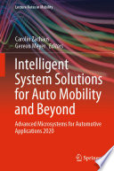 Intelligent System Solutions for Auto Mobility and Beyond
