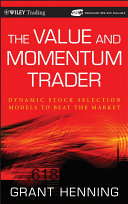 The Value and Momentum Trader Pdf/ePub eBook