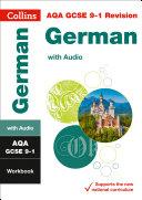 AQA GCSE 9 1 German Workbook  Collins GCSE 9 1 Revision