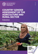 Country Gender Assessment of the agriculture and rural sector   Palestine