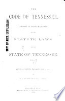 The Code Of Tennessee